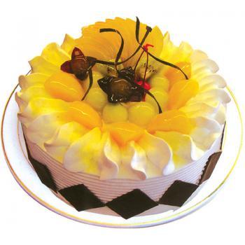 蛋糕:盛夏的果实