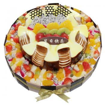 蛋糕心语星愿