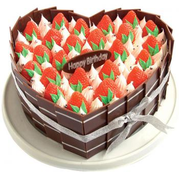 蛋糕 莓飞色舞
