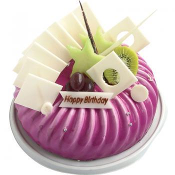 蛋糕 紫色梦幻