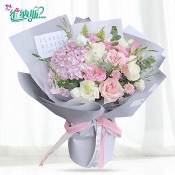 不忘初心--韩式花束