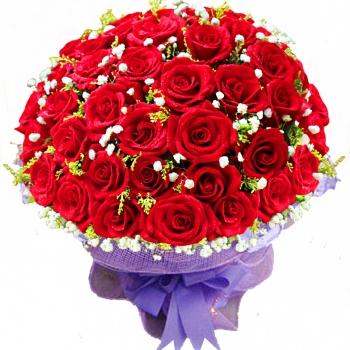 爱满天星-33朵红玫瑰