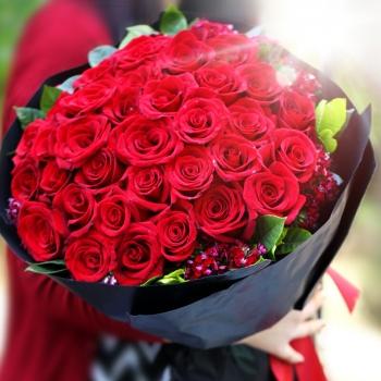 33枝红玫瑰-挚爱系