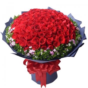 长相厮守【99朵大束玫瑰】
