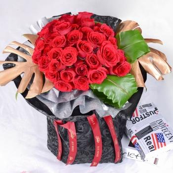 女神-33朵新娘玫瑰