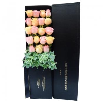 悸动情怀-19朵玫瑰礼盒