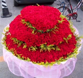 一生一世-1999朵红玫瑰