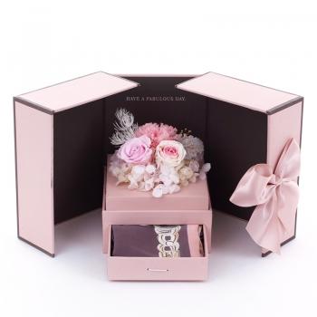 Para Ella 进口玫瑰永生花礼盒之两情相悦