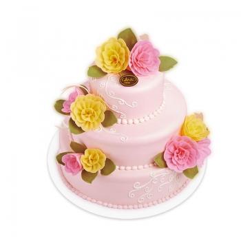 元祖|粉色恋曲鲜奶蛋糕