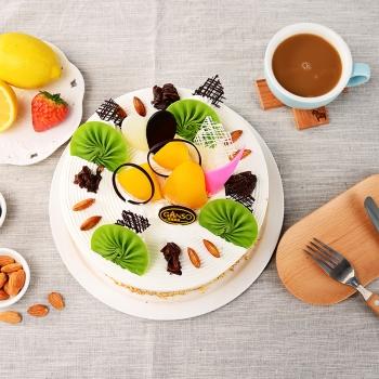 元祖|缤纷水果鲜奶蛋糕