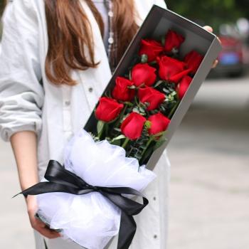 爱的表达-11朵红玫瑰礼盒