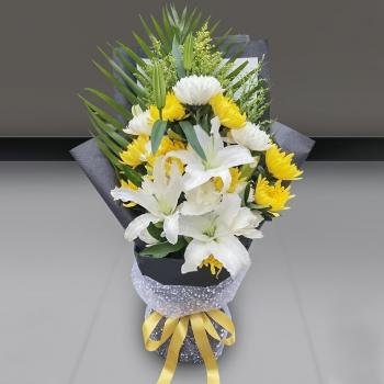 思念-清明节专用鲜花