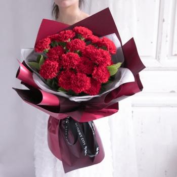 醉思恋-19朵红色康乃馨