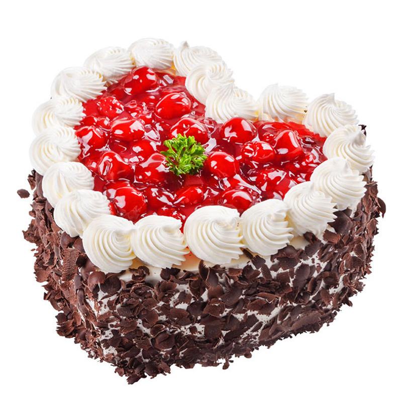 食用花卉与瓜果_一心一意-奶油水果蛋糕 - 南京鲜花礼品网